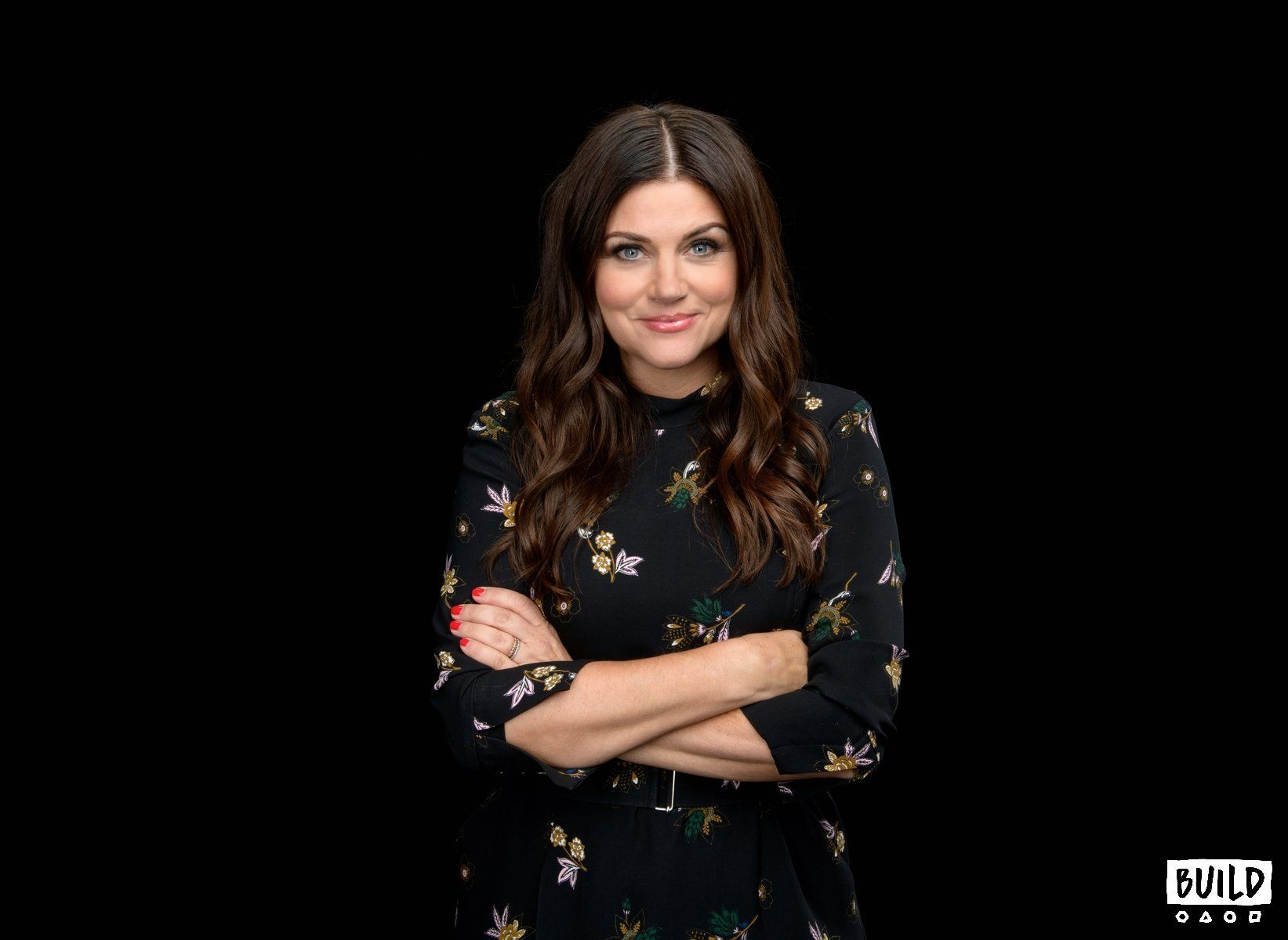 Tiffani Thiessen visits Build Series NYC on October 1, 2018 in New York. Photos by Noam Galai