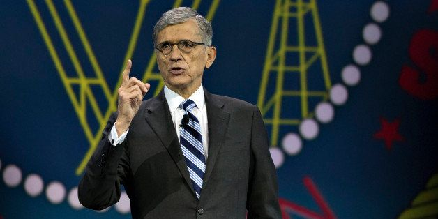 Thomas 'Tom' Wheeler, chairman of the U.S. Federal Communications Commission (FCC), speaks at INTX: The Internet & Television