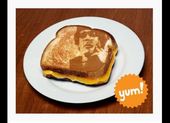 Ousted Libyan Dictator Mommar Gadafcheese