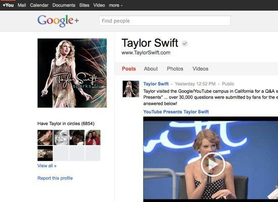 "<a href=""https://plus.google.com/102467684150504816942/posts"" target=""_hplink"">+Taylor Swift</a>"