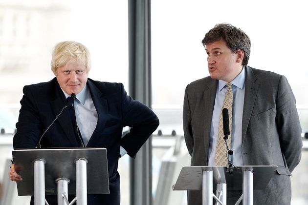 Boris Johnson and his then deputy mayor Kit