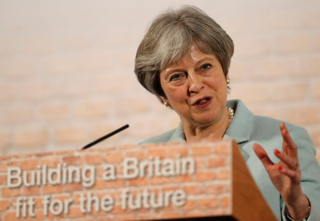 Theresa May has said she will 'dedicate my premiership' to fixing the housing