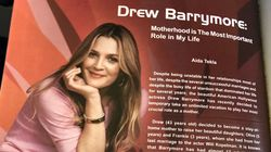 A Very Fake Drew Barrymore Interview From EgyptAir's In-Flight Magazine Went