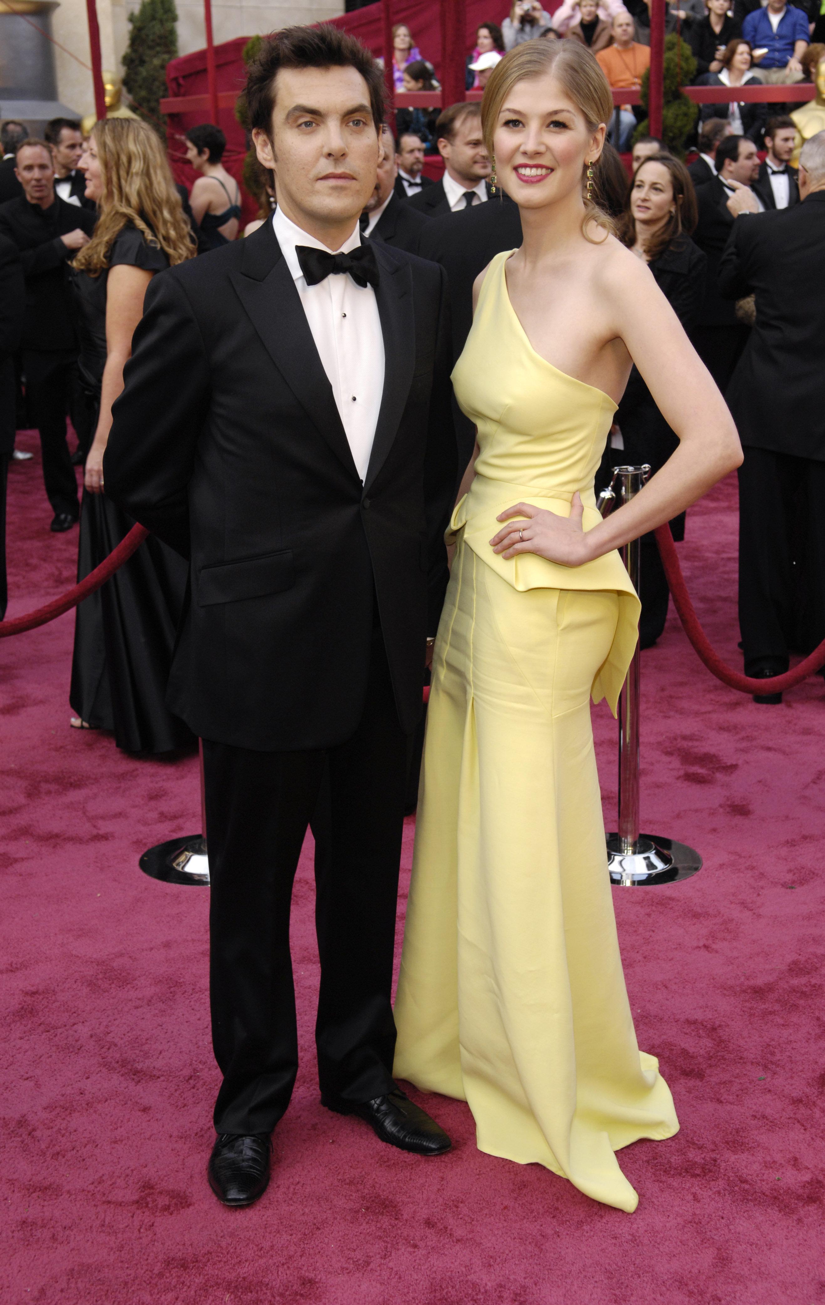 Rosamund Pike and Joe Wright engaged