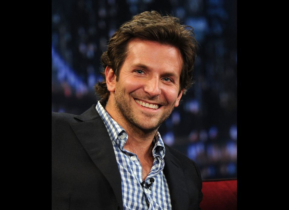 Actor Bradley Cooper visits 'Late Night with Jimmy Fallon' at Rockefeller Center on March 18, 2011 in New York City.  (Photo