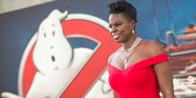 Actress Leslie Jones attends the Los Angeles Premiere of 'Ghostbusters' in Hollywood, California, on July 9, 2016. / AFP / VA