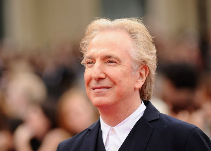 LONDON, ENGLAND - JULY 07:  Alan Rickman attends the World Premiere of Harry Potter and The Deathly Hallows - Part 2 at Trafa