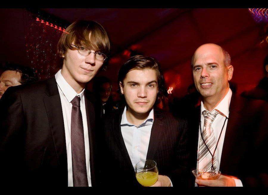 13th Annual Critics' Choice Movie Awards: Cocktail Reception- Paul Dano, Emile Hirsch, Joey Berlin