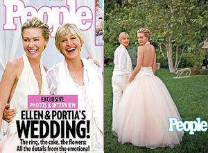 Ellen And Portia Wedding.Inside Ellen Degeneres And Portia De Rossi S Wedding Huffpost