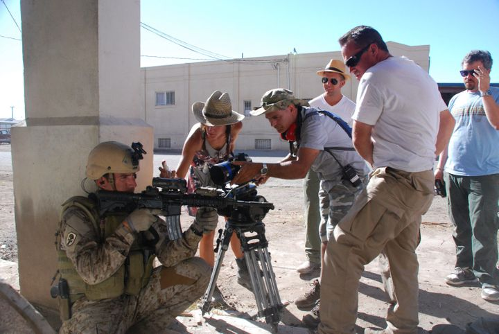 'Act Of Valor' And The Military's Long Hollywood Mission