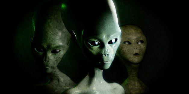 Grey aliens.