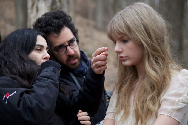 Taylor Swift Safe And Sound Behind The Scenes Photos Huffpost