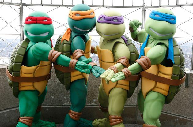 Michael Bay S Ninja Turtles Gets A Name And Age Change Huffpost