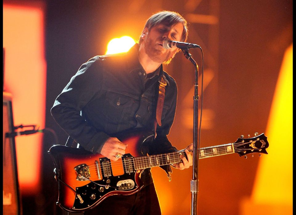 LOS ANGELES, CA - DECEMBER 10:  Musician Dan Auerbach of The Black Keys performs onstage at Spike TV's '2011 Video Game Award