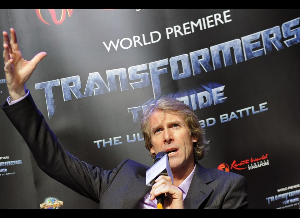 "<strong>Why He Should Do It</strong>: No one does big action better than Michael Bay (true), and ""Catching Fire"" is filled wi"