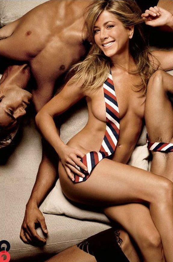 Jennifer Aniston Naked, Joking Jolie-Pitts In GQ - PHOTOS