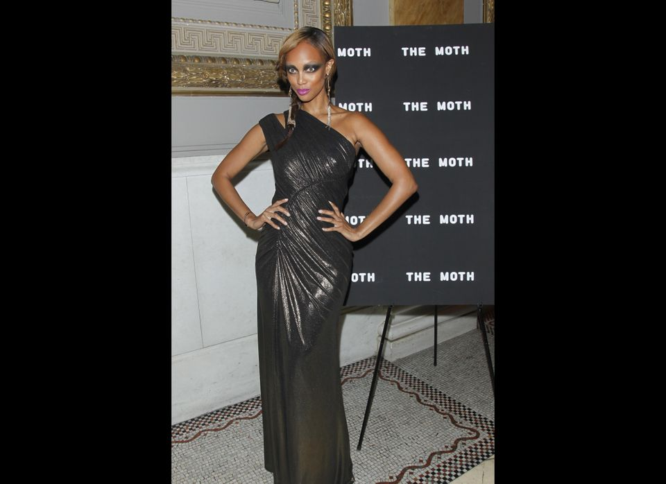 Model and television host Tyra Banks.