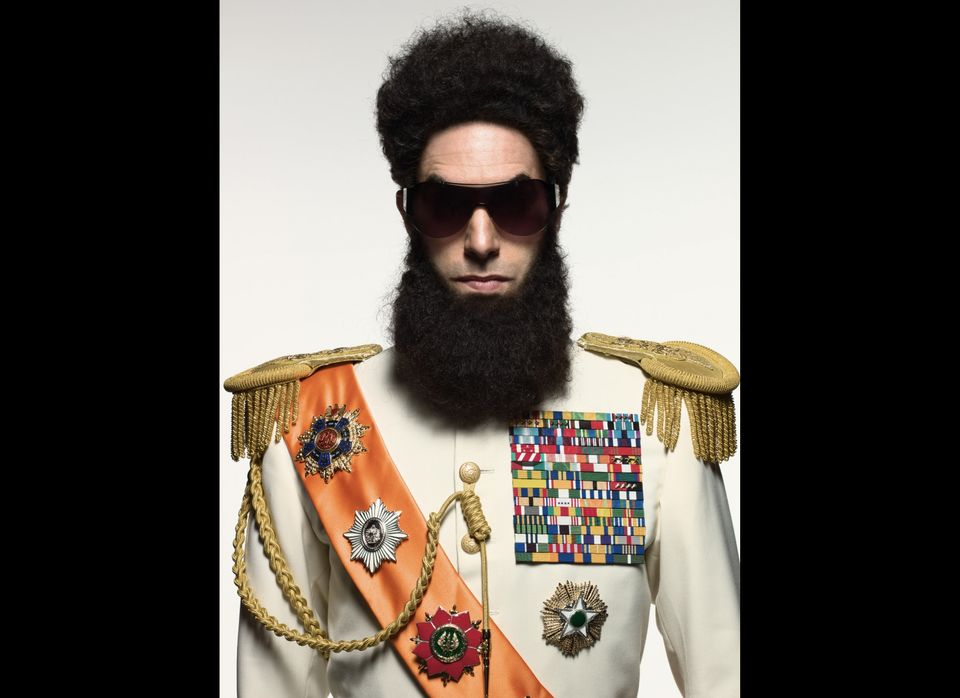 """Sacha Baron Cohen stopped being funny when he started getting scripted. Case in point: """"No joke in 'The Dictator' is funnier"""