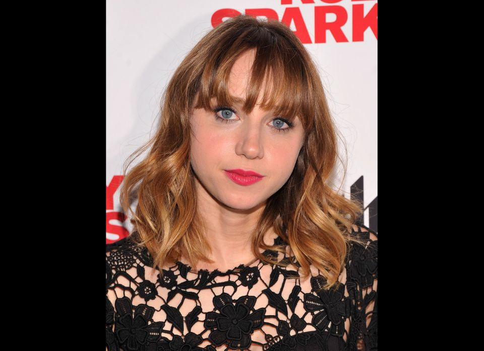 NEW YORK, NY - JULY 11:  Actress Zoe Kazan attends the 'Ruby Sparks' New York Special Screening at Sunshine Landmark on July