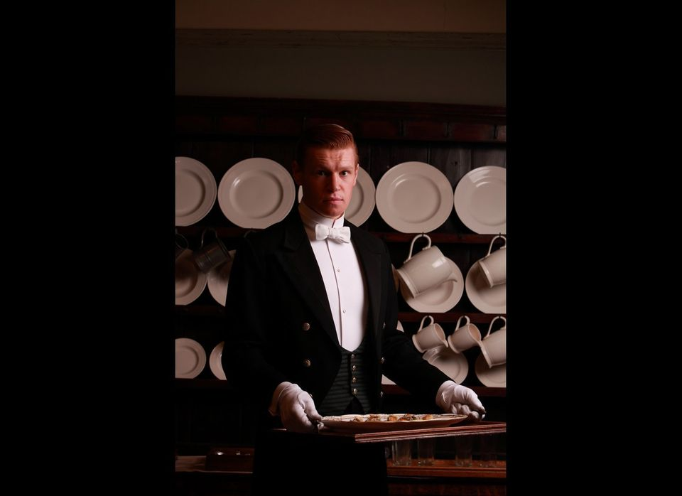Downton's new footman Alfred Nugent