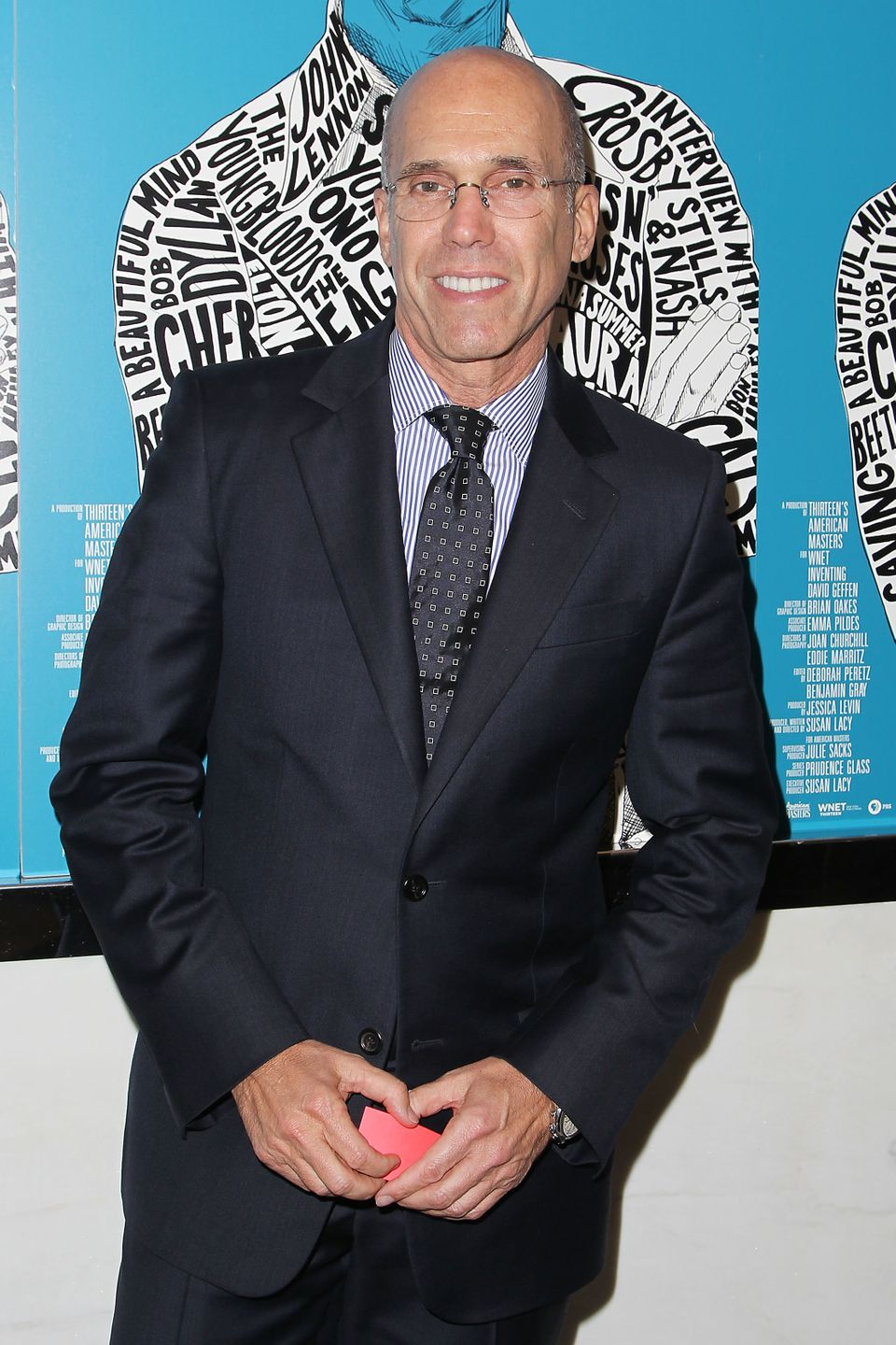 "This image released by Starpix shows producer Jeffrey Katzenberg at the premiere of ""Inventing David Geffen,"" at The Paris Th"