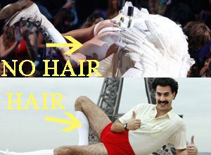 Sacha Baron Cohen's Hairless Bruno: Brazilian Waxed Or A Good