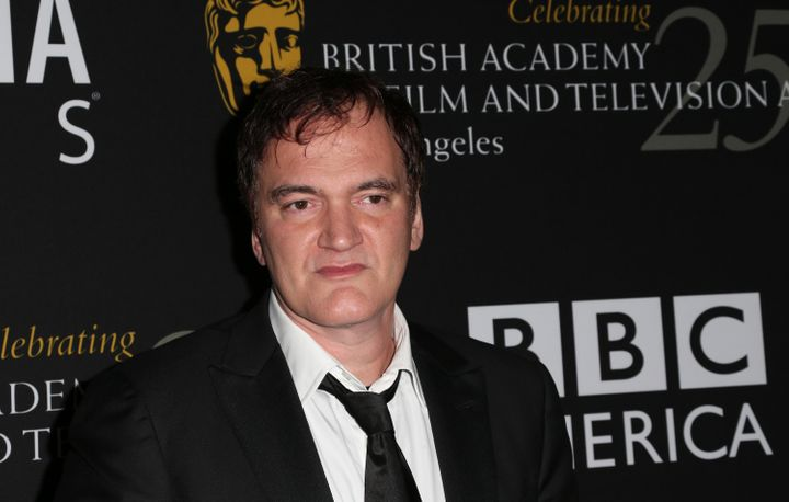 BEVERLY HILLS, CA - NOVEMBER 07:  Honoree Quentin Tarantino arrives at the 2012 BAFTA Los Angeles Britannia Awards Presented