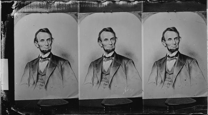 Title Abraham Lincoln, President U.S | Scope and content | General notes | ARC 529419 | Local identifier 111-B-5315 | Creator