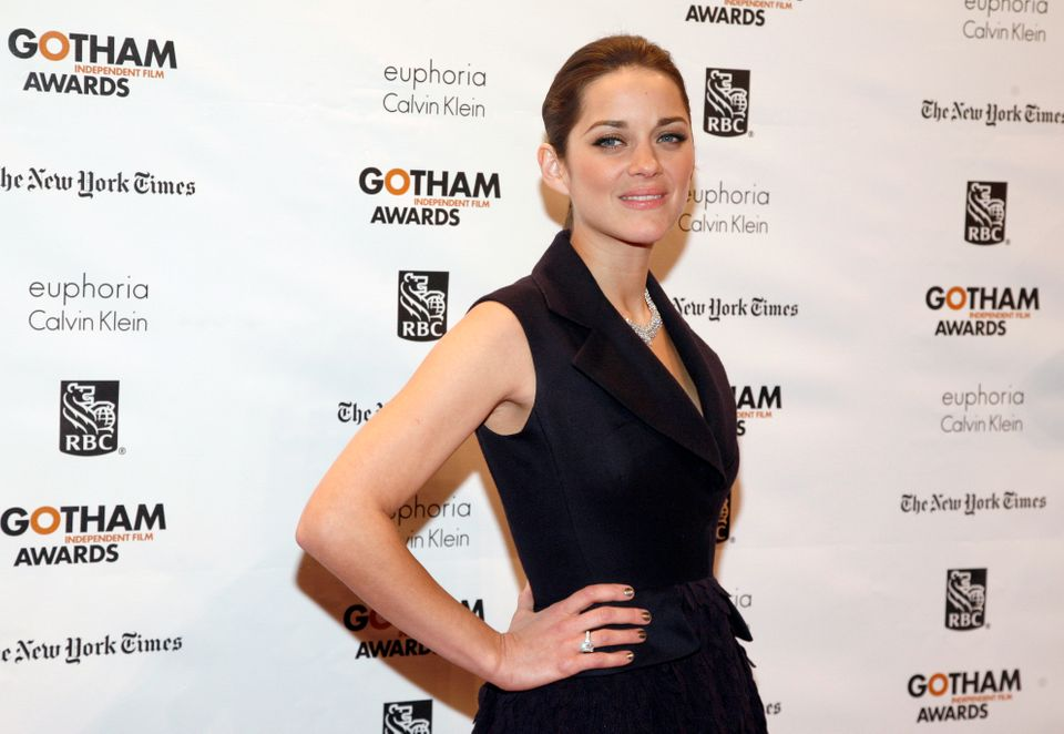 Actress Marion Cotillard attends the 22nd Annual Gotham Independent Film Awards, at Cipriani Wall Street on Monday, Nov. 26,