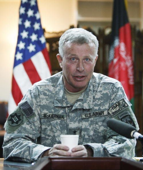 Defense Secretary Robert Gates asked for McKiernan's resignation a year before his term as commander was set to end. The firi