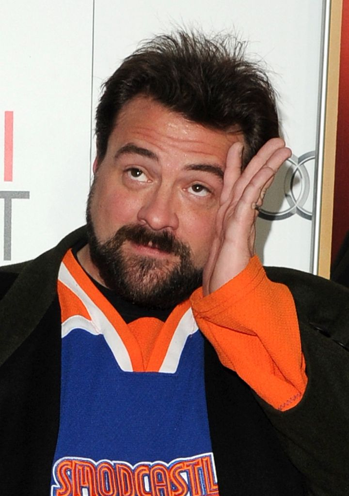 HOLLYWOOD, CA - NOVEMBER 01:  Director Kevin Smith arrives at the premiere of 'Hitchcock' during AFI Fest 2012 presented by A