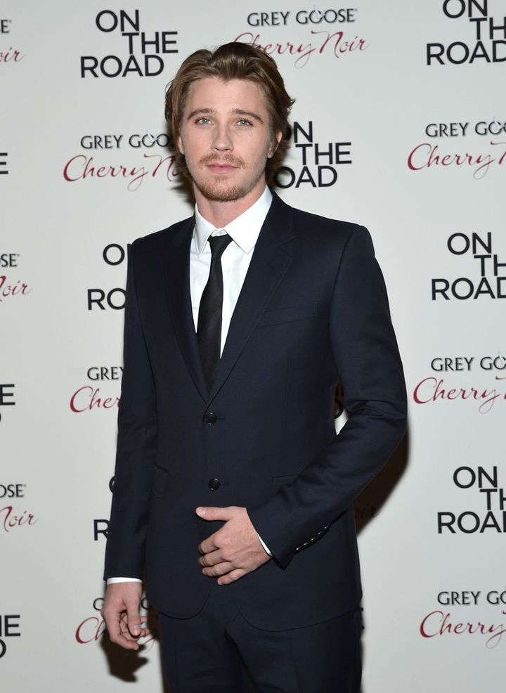 NEW YORK, NY - DECEMBER 13:  Actor Garrett Hedlund attends 'On The Road' New York Premiere at SVA Theater on December 13, 201