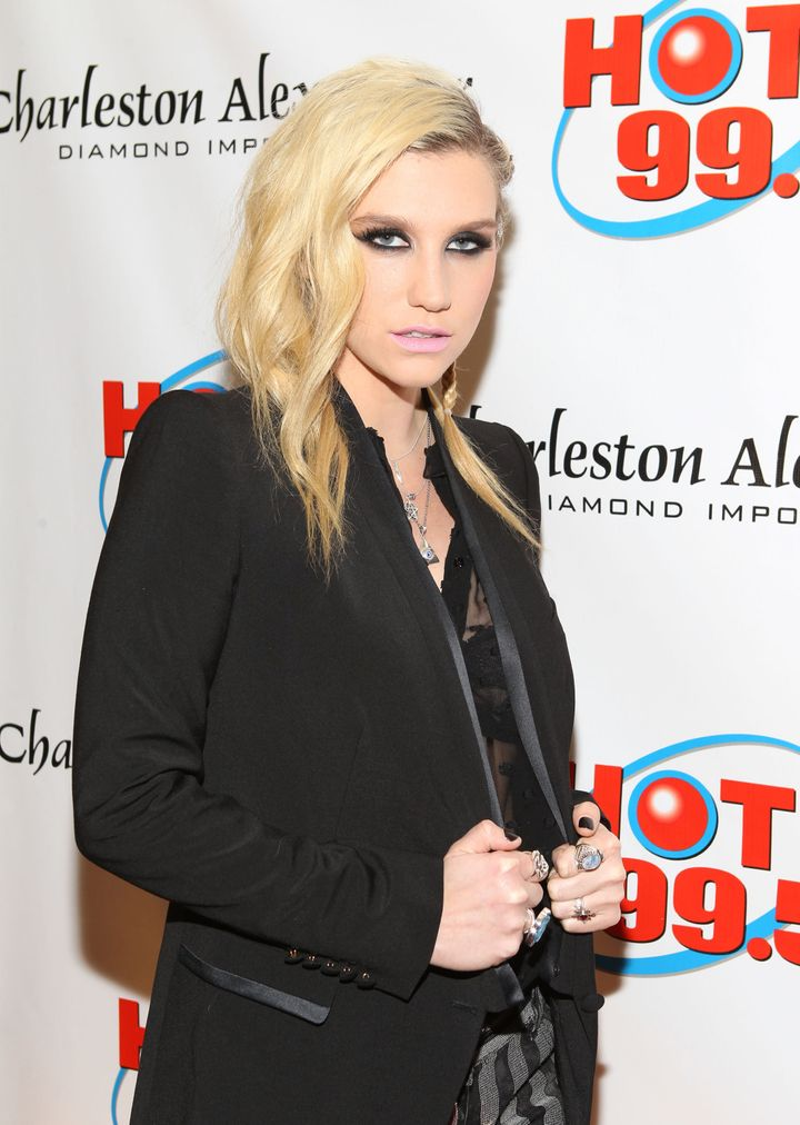 WASHINGTON, DC - DECEMBER 11:  Singer Kesha attends Hot 99.5's Jingle Ball 2012, presented by Charleston Alexander Diamond Im