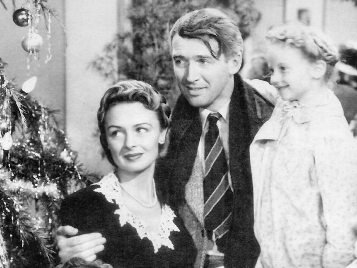 Stewart (actor) | Jimmy Stewart  and en:Donna Reed | Donna Reed  in the American film en:It's a Wonderful Life | It's a Wonde