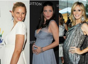 a2bb14e4c993a The Victoria's Secret Fashion Show may be missing a few of its angels this  year. Heidi Klum, Karolina Kurkova and Adriana Lima are all pregnant.