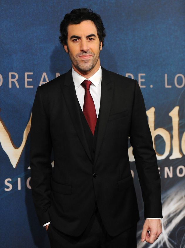 Sacha Baron Cohen: 'Les Miserables' Role Forced Him To Drop 'Django  Unchained' | HuffPost