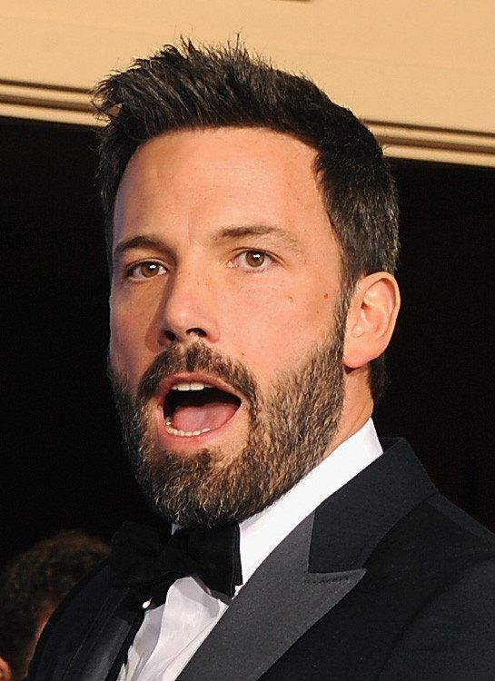 BEVERLY HILLS, CA - JANUARY 13:  Actor-director Ben Affleck, winner of Best Director of a Motion Picture for 'Argo,' poses in