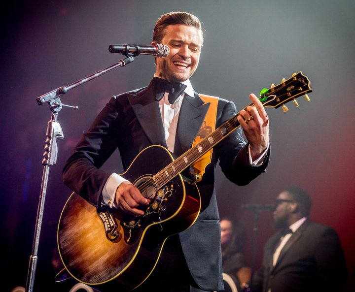 NEW ORLEANS, LA - FEBRUARY 02:  Justin Timberlake performs at DIRECTV Super Saturday Night Featuring Special Guest Justin Tim