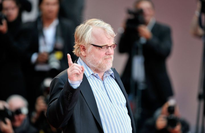 VENICE, ITALY - SEPTEMBER 01:  Actor Philip Seymour Hoffman attends 'The Master' Premiere during The 69th Venice Film Festiva