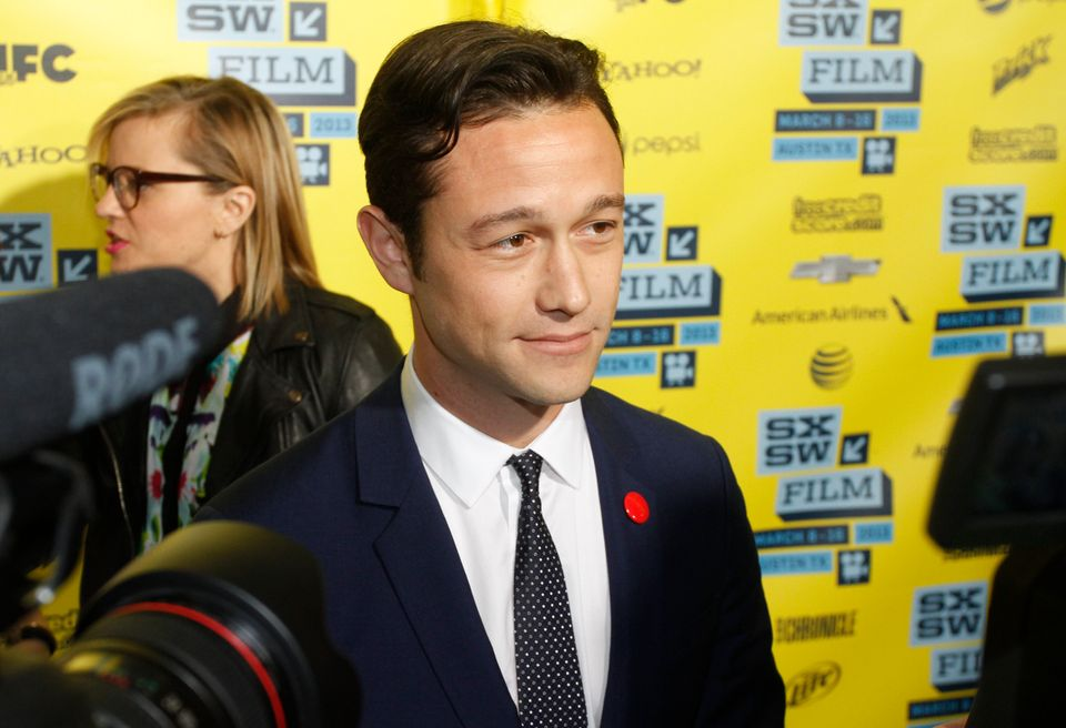 "Joseph Gordon-Levitt arrives at a screening of ""Don Jon's Addiction at the SXSW Film Festival, on Monday, March 11, 2013 in A"