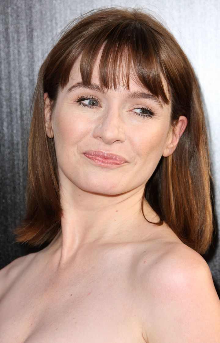 HOLLYWOOD, CA - JUNE 20: Actress Emily Mortimer attends the Premiere Of HBO's 'The Newsroom' at the ArcLight Cinemas Cinerama