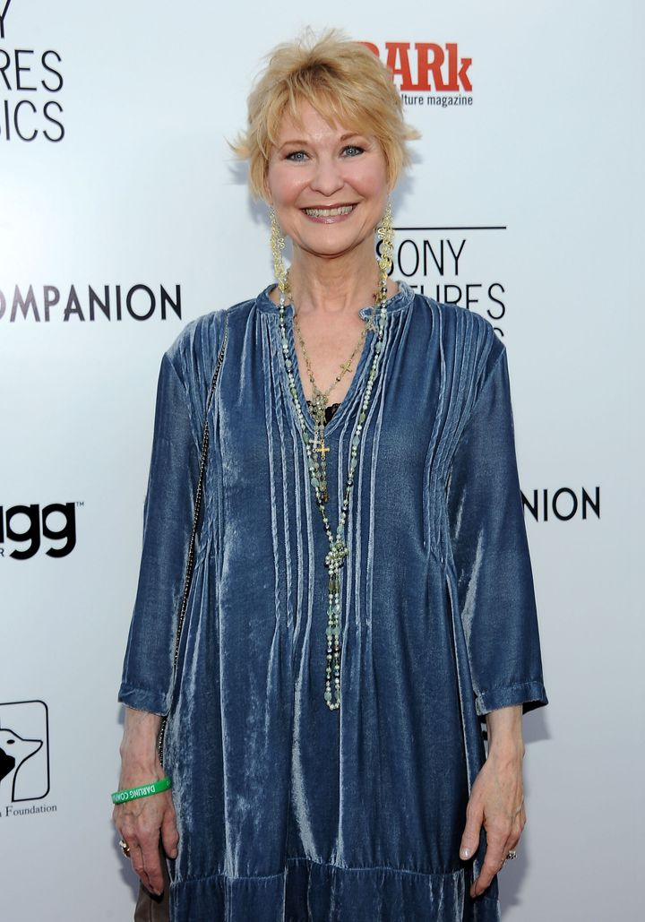HOLLYWOOD, CA - APRIL 17:  Actress Dee Wallace  arrives at the Premiere Of Sony Pictures Classics' 'Darling Companion' at the
