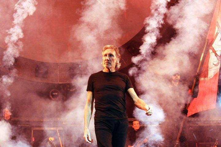 ATLANTA, GA - JUNE 13:  Roger Waters performs The Wall at Philips Arena on June 13, 2012 in Atlanta, Georgia.  (Photo by Chri