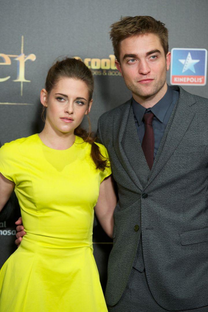 MADRID, SPAIN - NOVEMBER 15:  Actress Kristen Stewart and actor Robert Pattinson attend the 'The Twilight Saga: Breaking Dawn