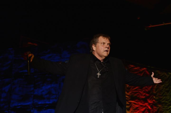 NEW YORK, NY - JUNE 14:  Meat Loaf performs onstage at the Songwriters Hall of Fame 43rd Annual induction and awards at The N