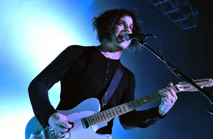 LONDON, ENGLAND - APRIL 23:  Musician Jack White performs live on stage during a one-off solo concert in support of his debut