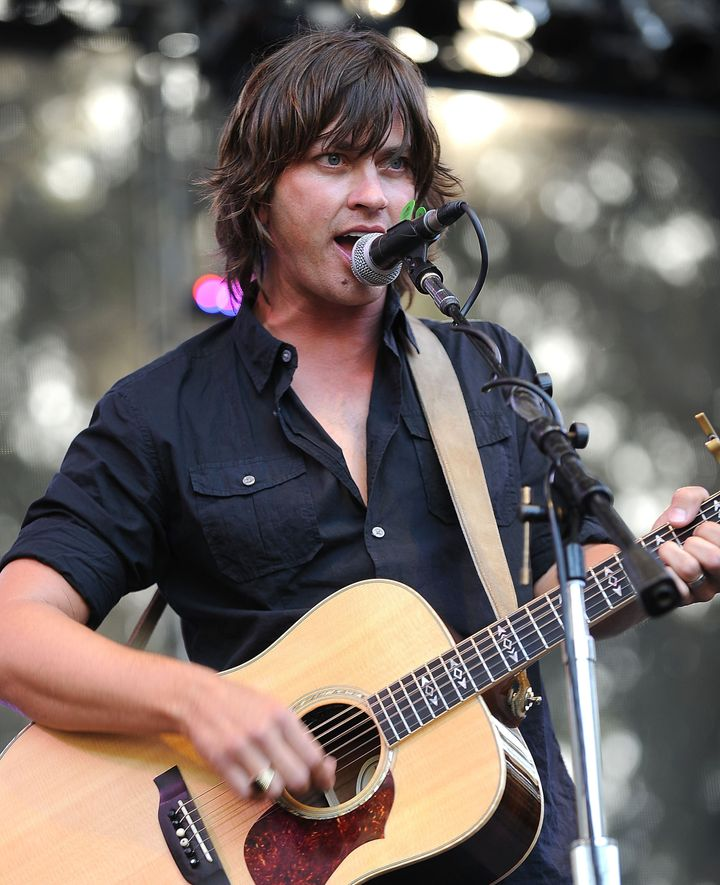 SAN FRANCISCO, CA - AUGUST 13:  Rhett Miller of the Old 97s performs during the 2011 Outside Lands Music and Arts Festival at
