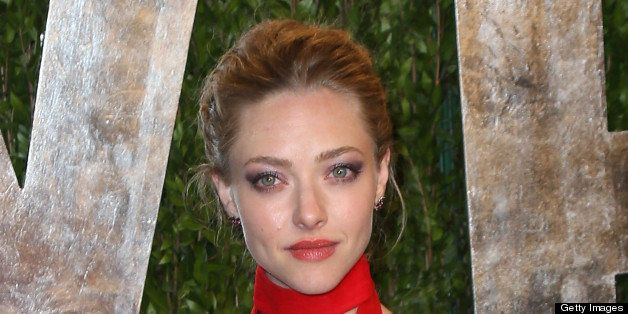 WEST HOLLYWOOD, CA - FEBRUARY 24:  Actress Amanda Seyfried attends the 2013 Vanity Fair Oscar Party at the Sunset Tower Hotel