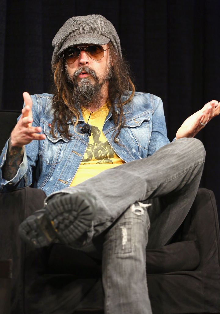 AUSTIN, TX - MARCH 12:  Musician Rob Zombie speaks onstage at A Conversation With Rob Zombie Panel during the 2013 SXSW Music
