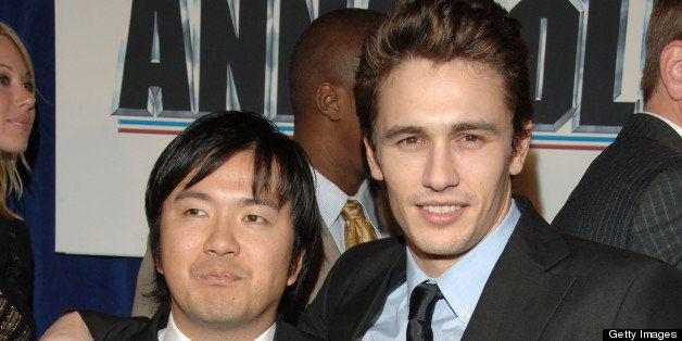 Justin Lin, director of 'Annapolis' and James Franco (Photo by L. Cohen/WireImage for Disney Pictures)
